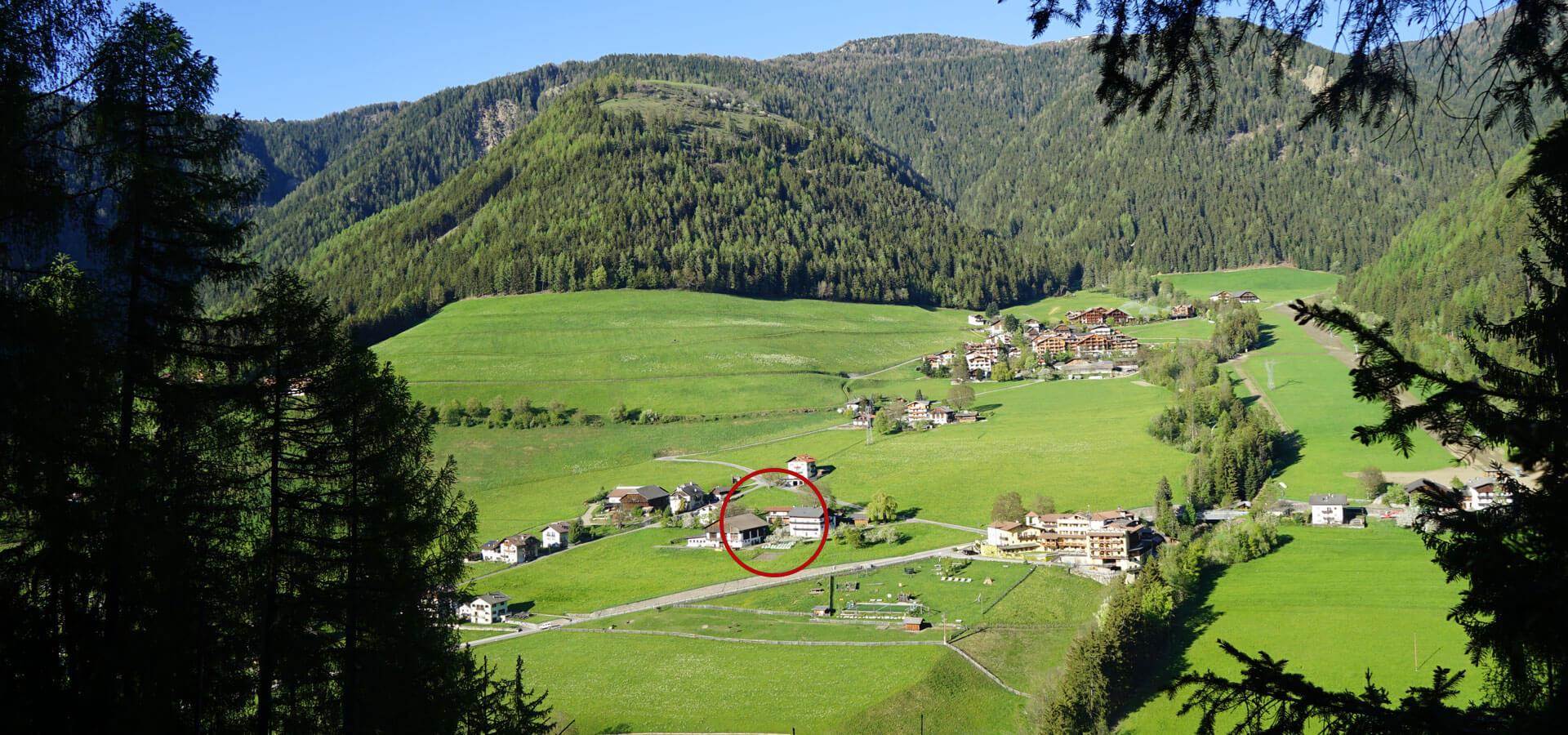 Wandern in Lüsen - Südtirol